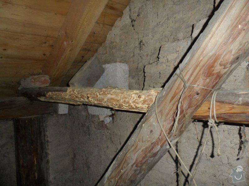 Částečná rekonstrukce sedlové střechy + výměna okapů: tram_6