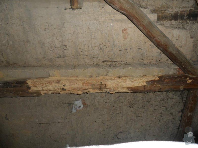 Částečná rekonstrukce sedlové střechy + výměna okapů: tram_4