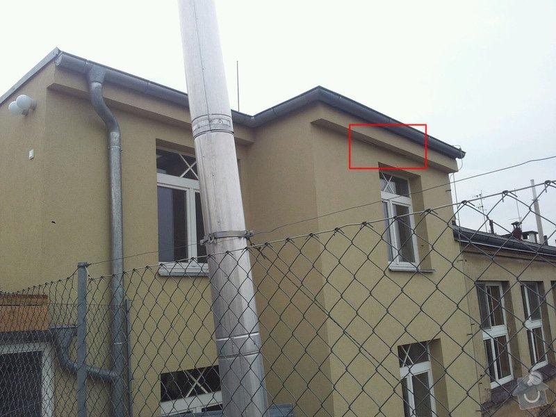 Výškové práce - drobná oprava fasády horolezeckou technikou: 2014-03-18_12.38.01_resized