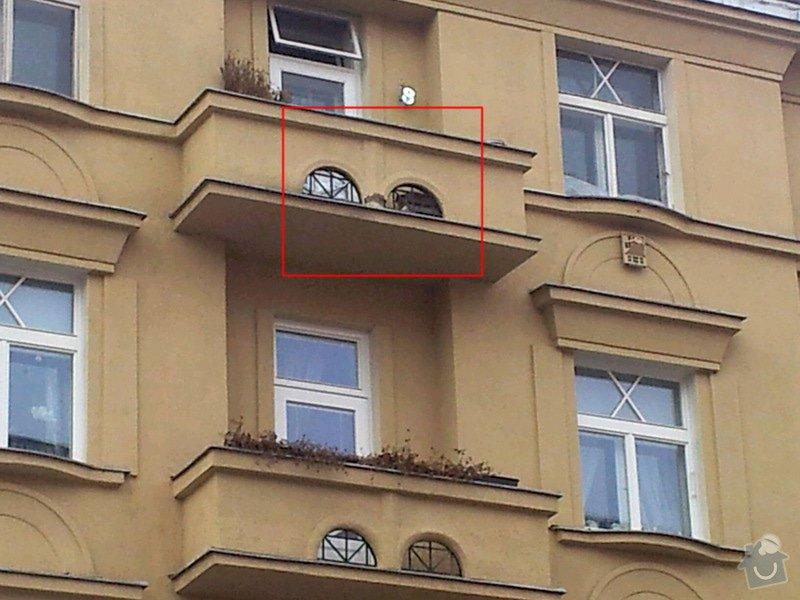 Výškové práce - drobná oprava fasády horolezeckou technikou: 2014-03-18_11.58.18_resized