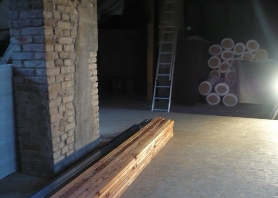 Přestavba podkroví