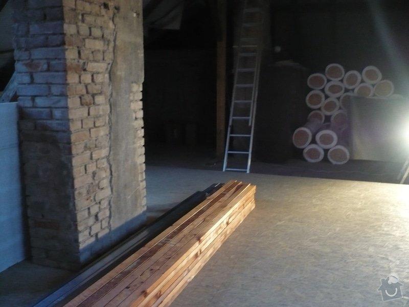 Přestavba podkroví: P1110937