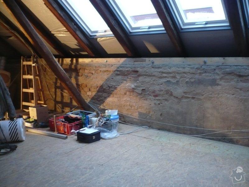 Přestavba podkroví: P1110938