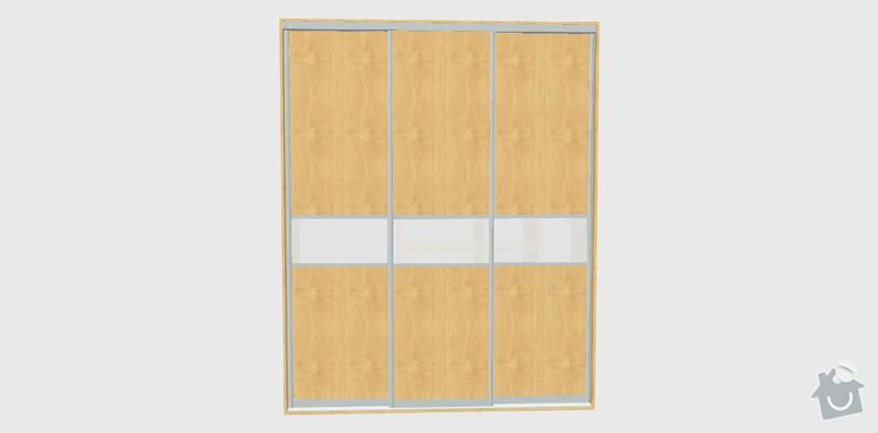 Vestavěná skříň: dvere
