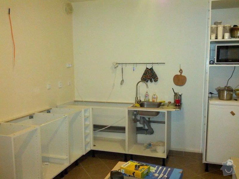 Kuchyňská pracovní deska: kuchyn
