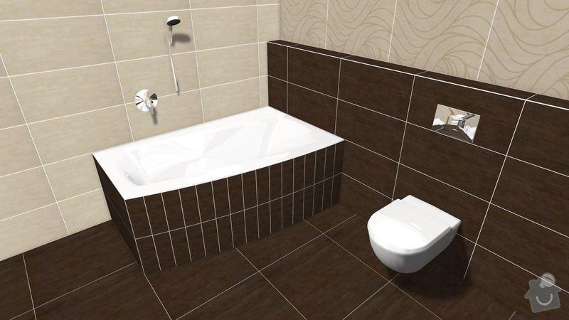 Rekonstrukce koupelny v rodinném domě: Graf.navrh3