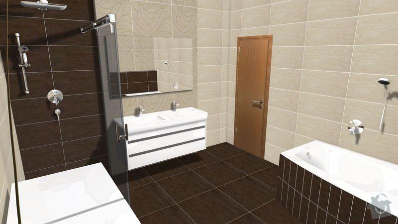 Rekonstrukce koupelny v rodinném domě: Graf.navrh4