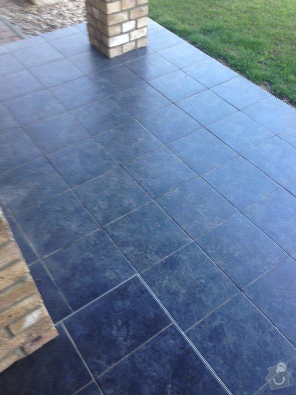 Pokládka venkovní dlažby na terasu 40 m2: IMG_7755