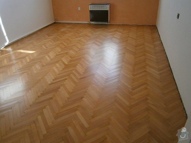 Renovace / rekonstrukce parket Praha, 1 pokoj 23 m2: po-renovaci
