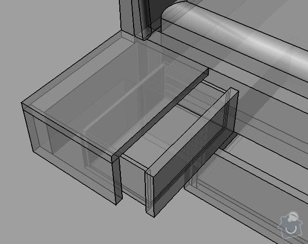 Výroba postele na míru: Postel_polstr_-_nocni_stolek_detail_konstrukce_