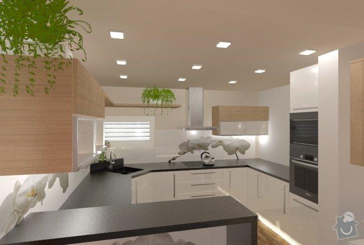 Návrh kuchyně, obývacího pokoje a koupelny: RD_Dub_nad_Moravou_kuchyn_obyvak_62