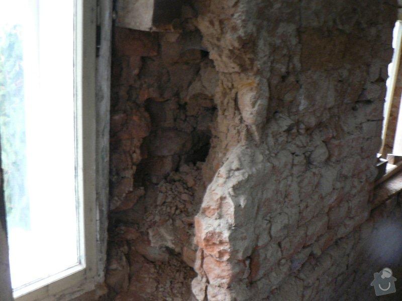 Rekontrukce střechy,podřezání zdí,stavební práce: P1150378