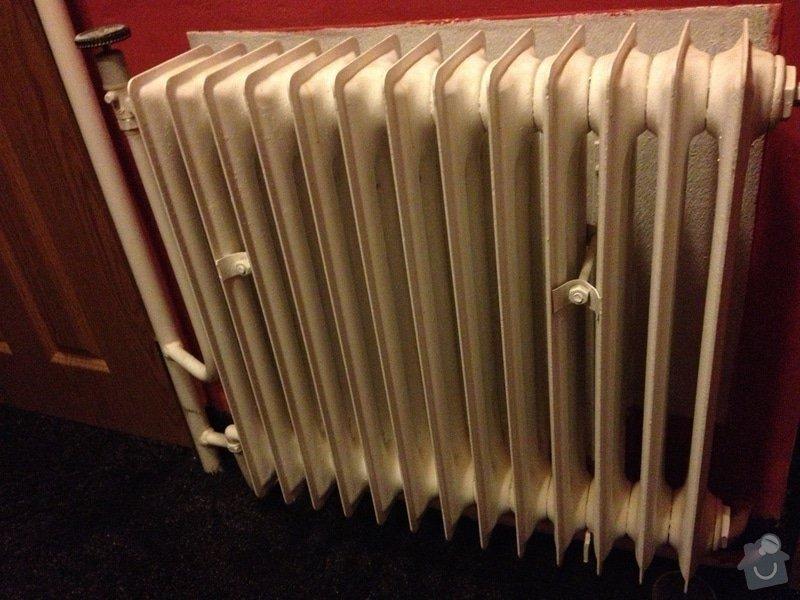 Výměna 5 radiátorů - Beroun-Zdejcina: IMG_0579