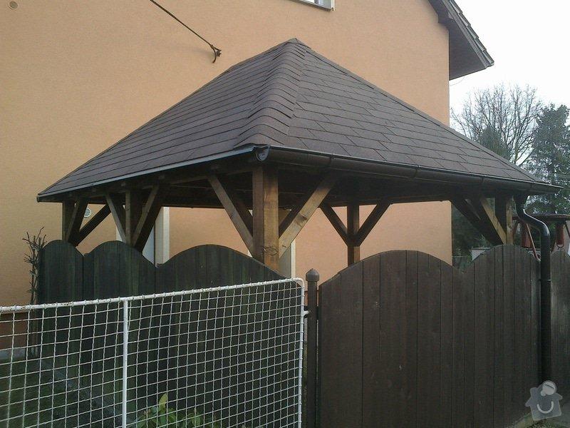 Dřevěná zahradní pergola: 180320141020