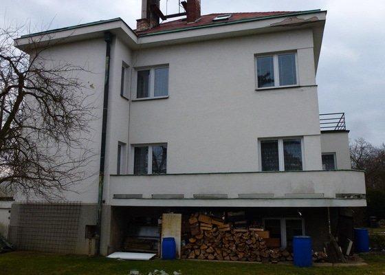 Oprava fasády RD