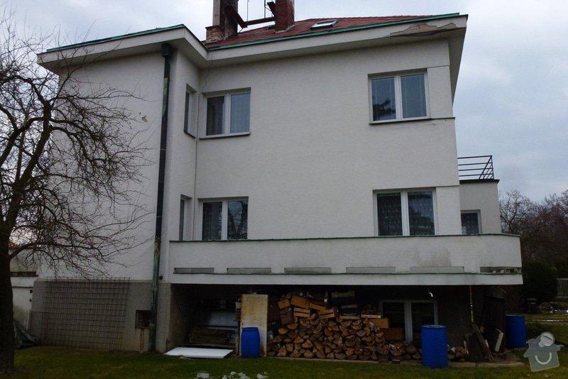 Oprava fasády RD: Zapadni_strana