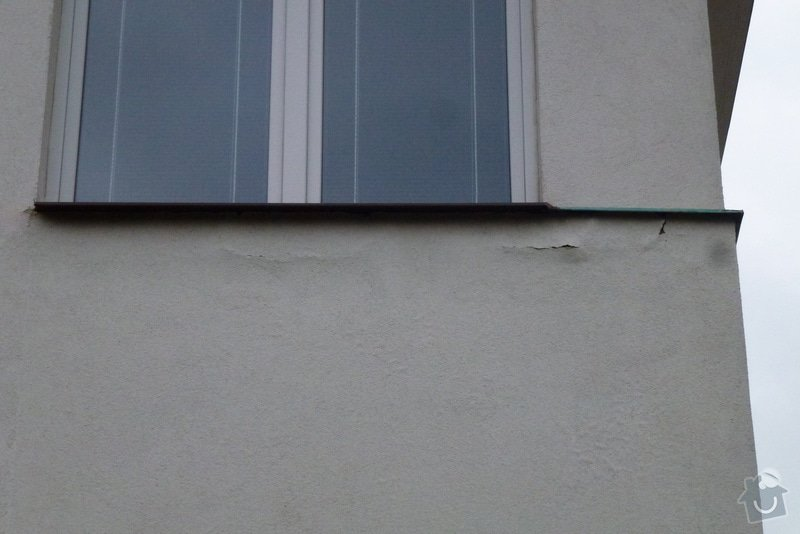 Oprava fasády RD: Zapad-detail2