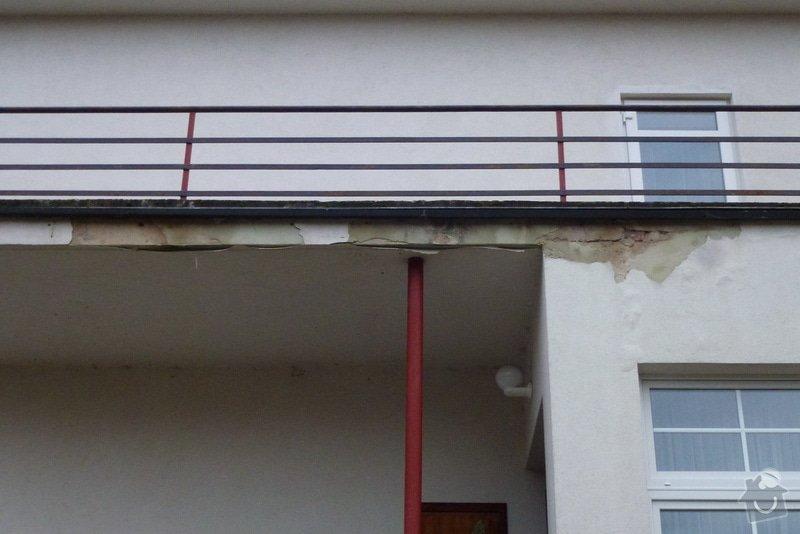 Oprava fasády RD: Vychod-detail