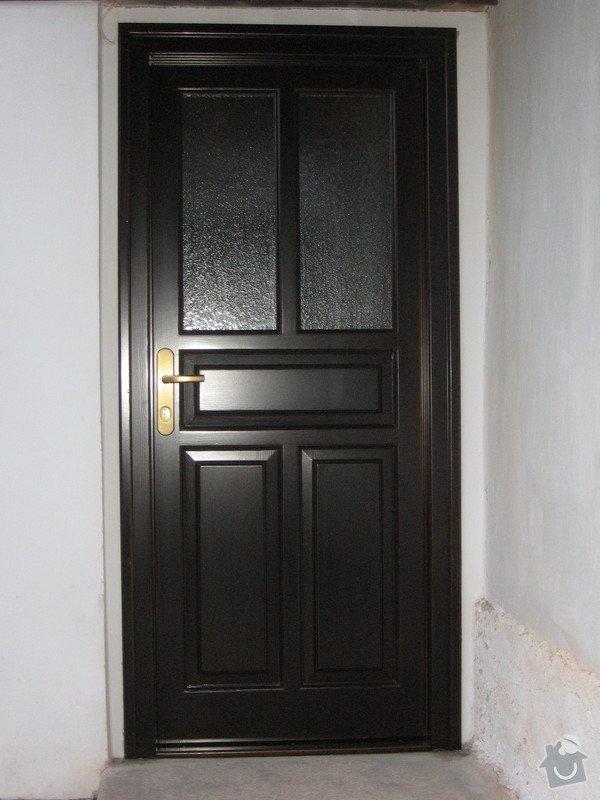 Výrobu venkovních dveří: Vejdovsky