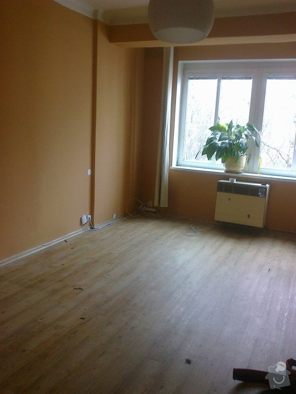 Kompletní vymalování bytu 1+1, 45 m2, P-3 Žižkov: Fotografie0530