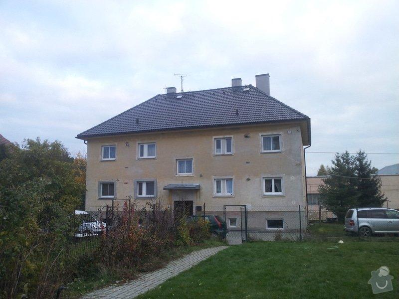 Střecha bytové jednotky: 20131016_174909
