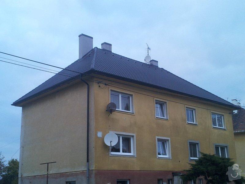 Střecha bytové jednotky: 20131016_175041