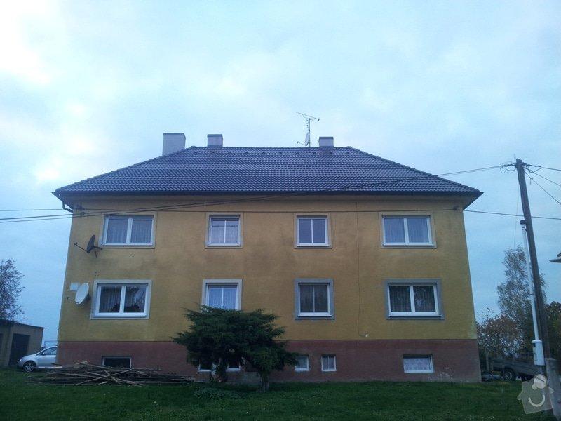 Střecha bytové jednotky: 20131016_175111