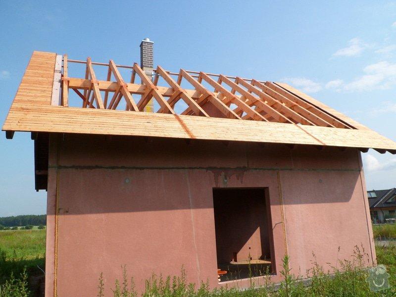 Střecha novostavby rodinného domu Mladá Boleslav: SAM_1688