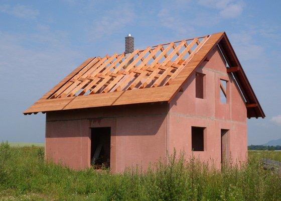Střecha novostavby rodinného domu Mladá Boleslav