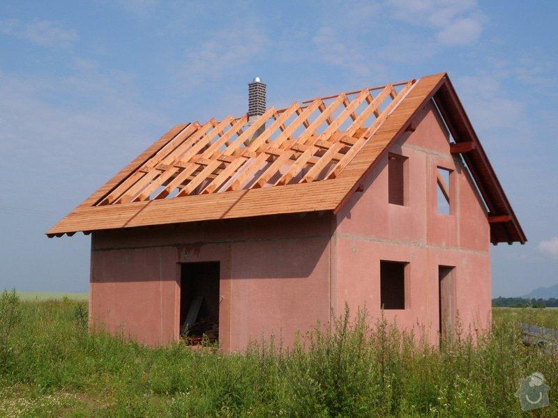 Střecha novostavby rodinného domu Mladá Boleslav: SAM_1689