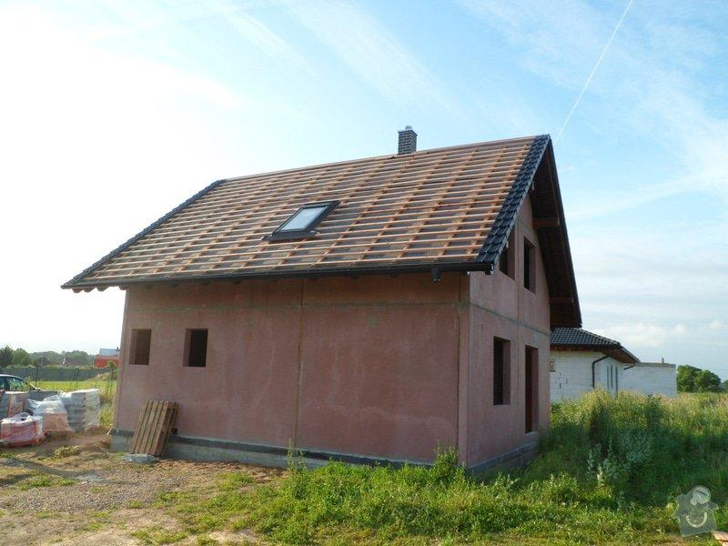 Střecha novostavby rodinného domu Mladá Boleslav: SAM_1695