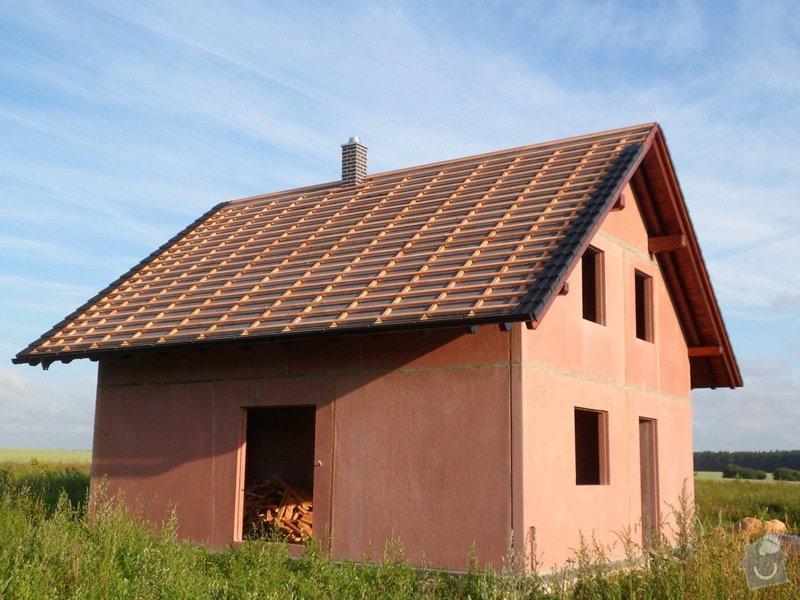 Střecha novostavby rodinného domu Mladá Boleslav: SAM_1697