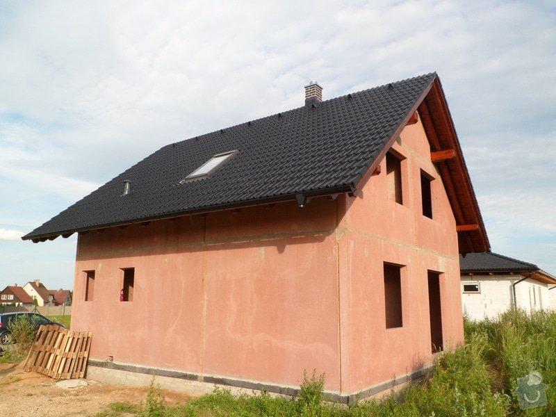 Střecha novostavby rodinného domu Mladá Boleslav: SAM_1700