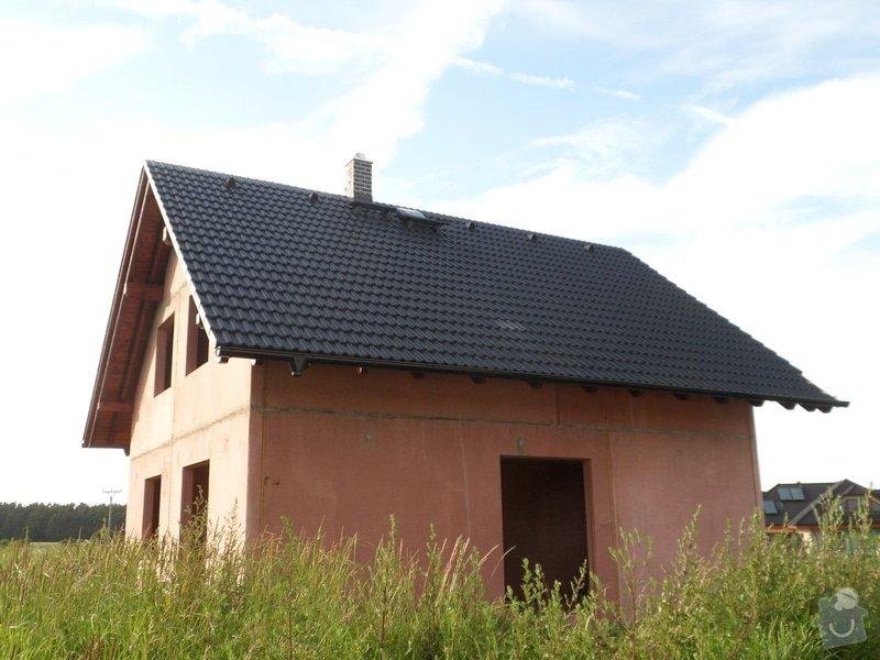Střecha novostavby rodinného domu Mladá Boleslav: SAM_1701