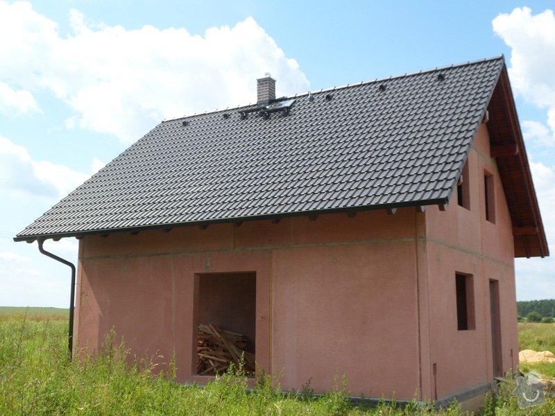 Střecha novostavby rodinného domu Mladá Boleslav: SAM_1707