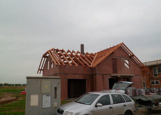 Střecha novostavby RD