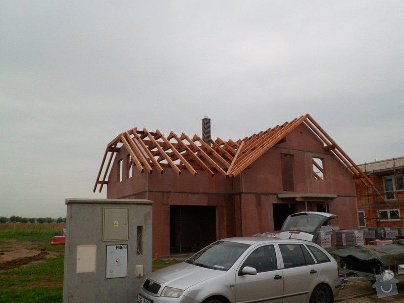 Střecha novostavby RD: SAM_2176
