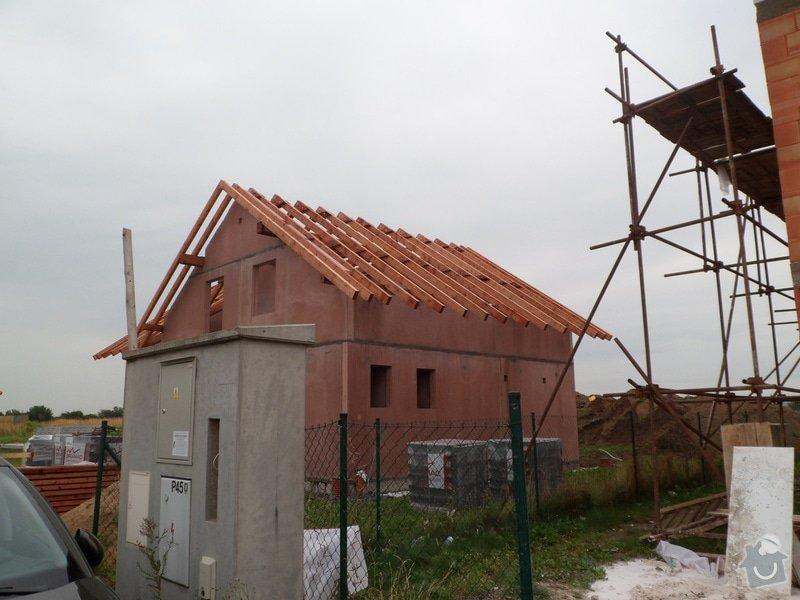 Střecha novostavby RD: SAM_2177