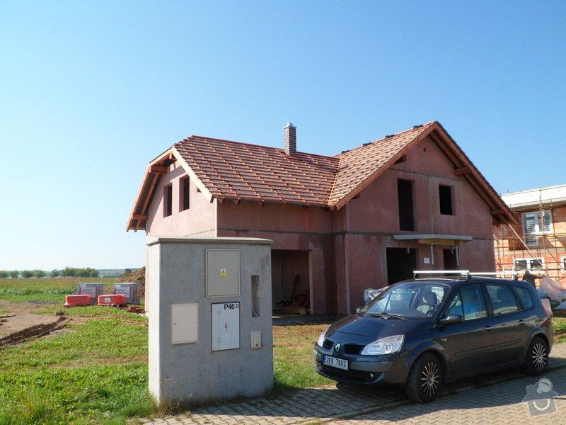 Střecha novostavby RD: SAM_2183