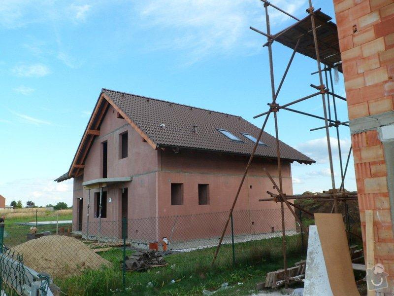 Střecha novostavby RD: SAM_2194