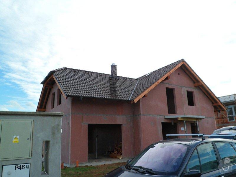 Střecha novostavby RD: SAM_2195