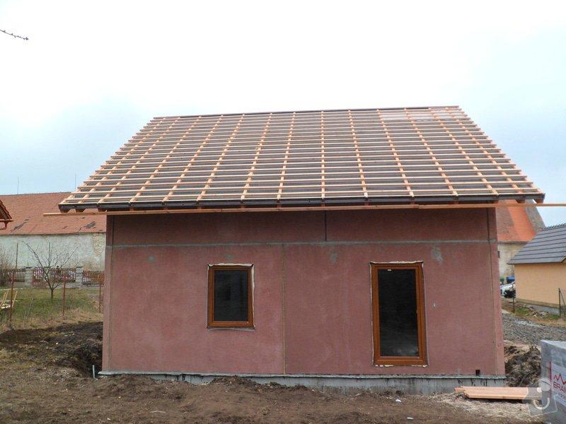 Střecha na novostavbě rodinného domu: SAM_1591