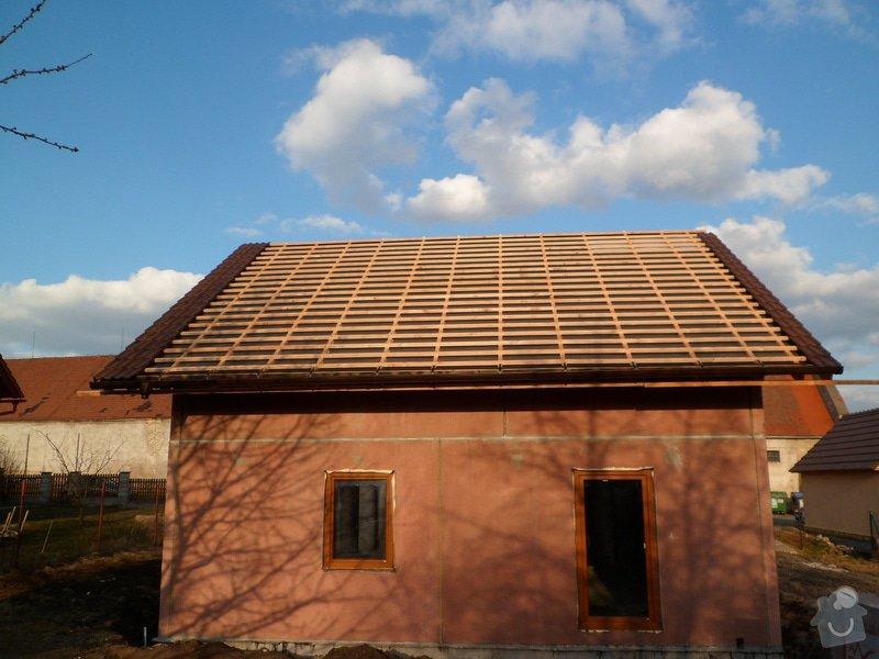 Střecha na novostavbě rodinného domu: SAM_1598