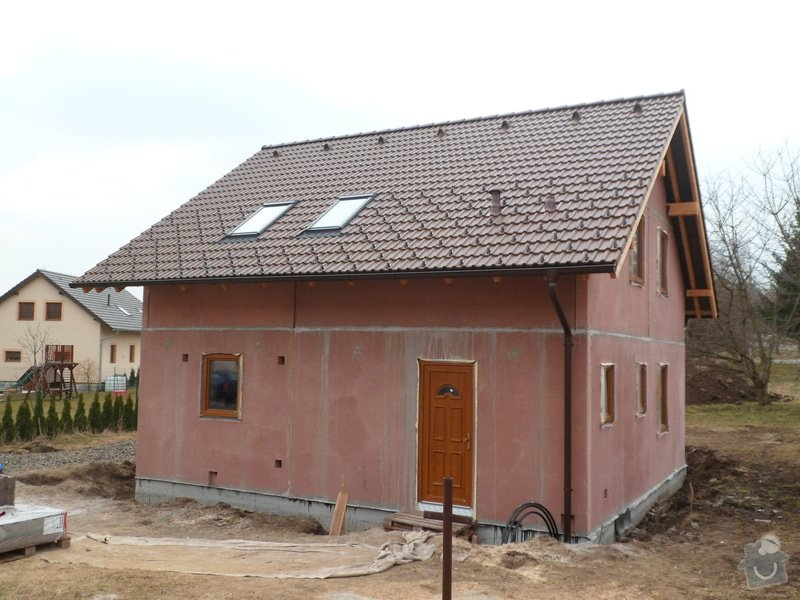 Střecha na novostavbě rodinného domu: SAM_1601