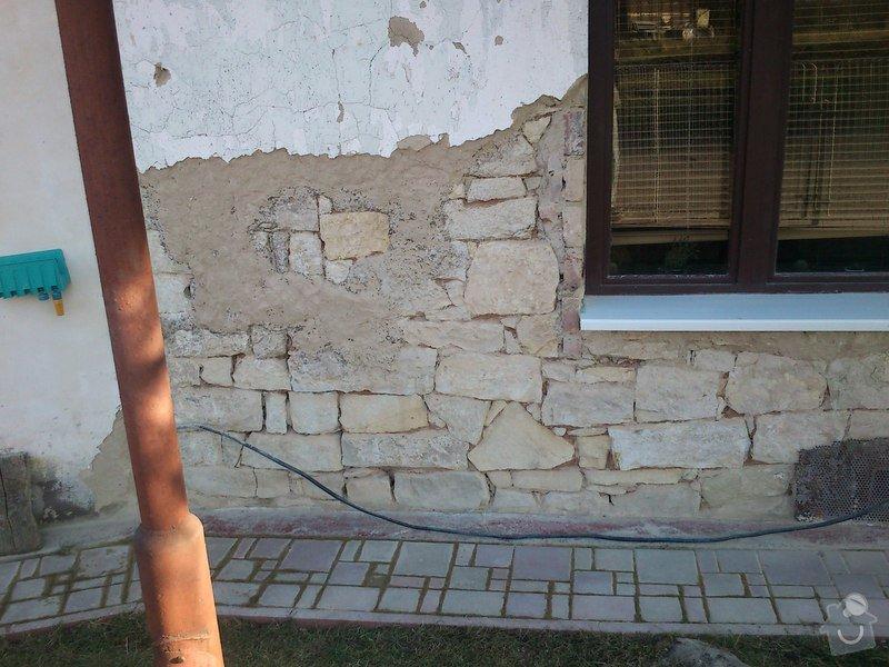 Rekonstrukce vnější štítové stěny: DSC_0713
