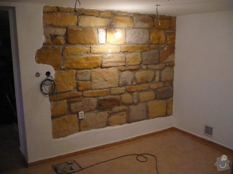 Rekonstrukce vnější štítové stěny: P1000364