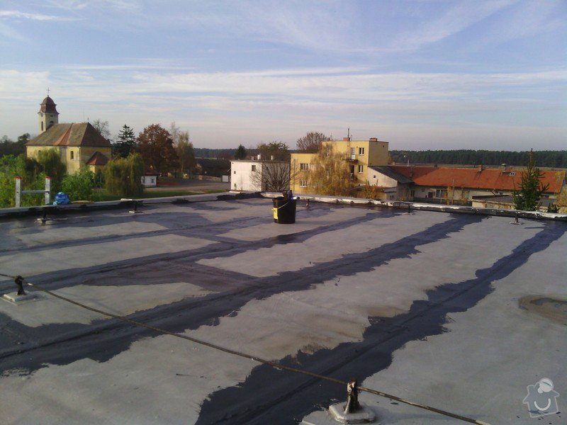 Položení nové střešní lepenky: IMG_20131026_153550