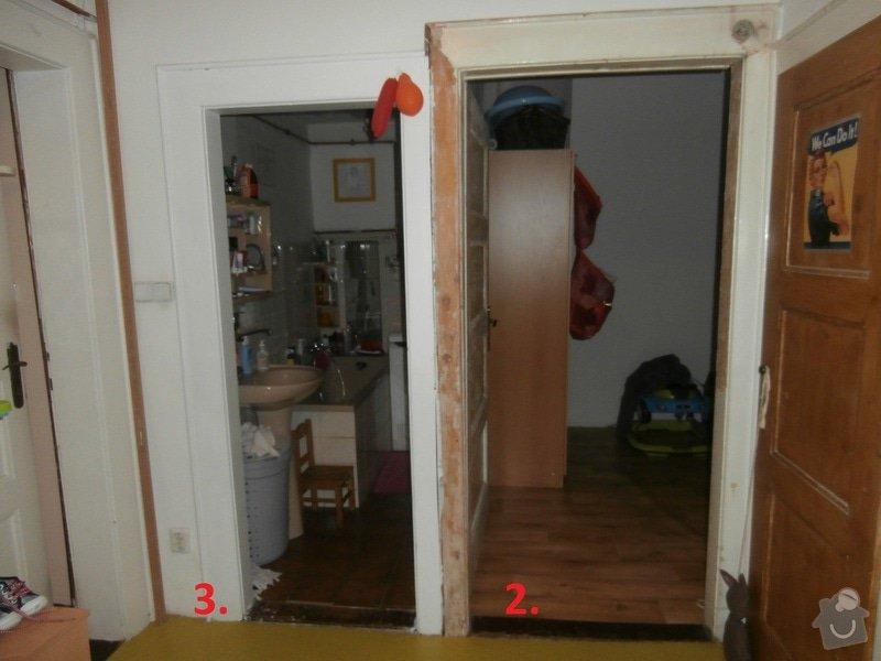 Interiérové dveře vč. zárubní: 2