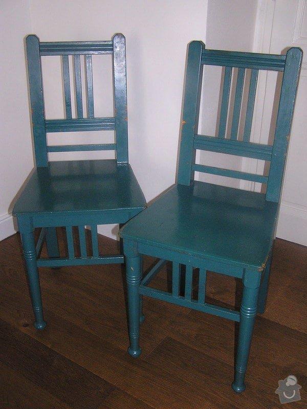 Renovace 2 židlí: P1010366
