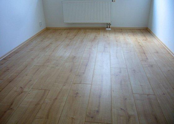 Rekonstrukce podlahy v 2+KK